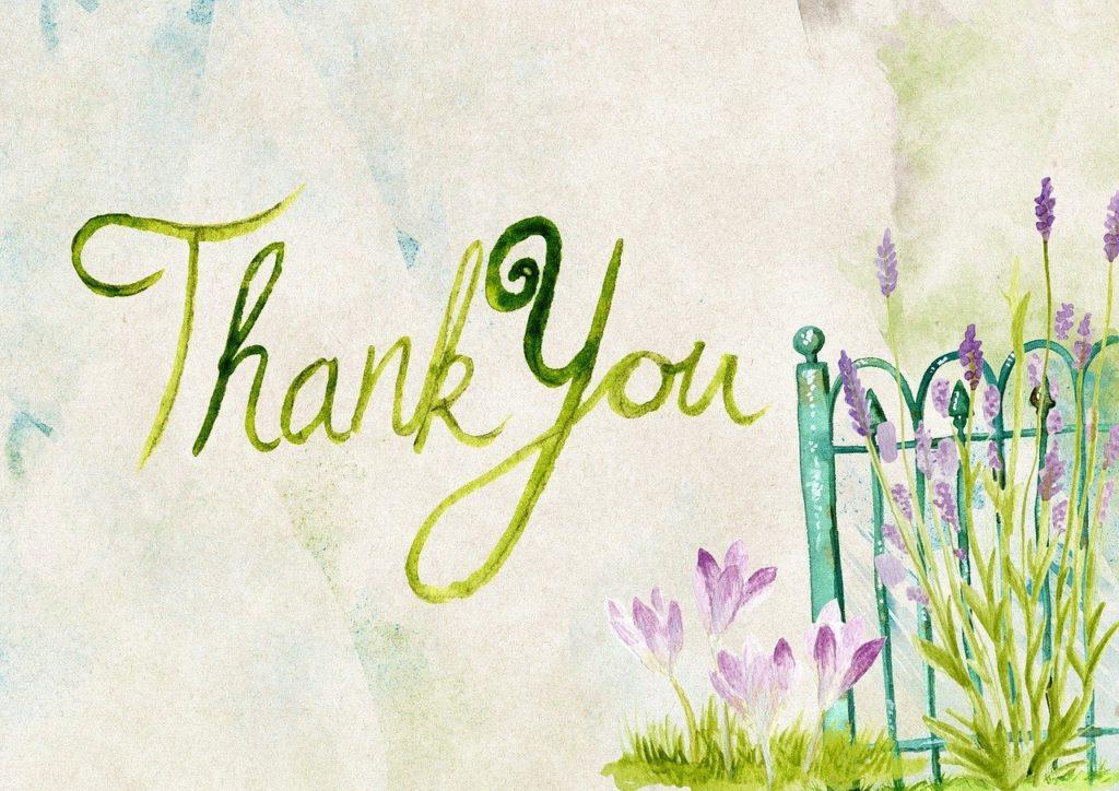Dankbarkeit spüren